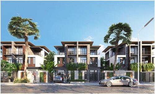 Mỗi căn biệt thự 5 sao tại Goldsand Hill Villa có giá 4-5 tỷ đồng.