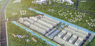 Phối cảnh dự án Lago Centro Long An
